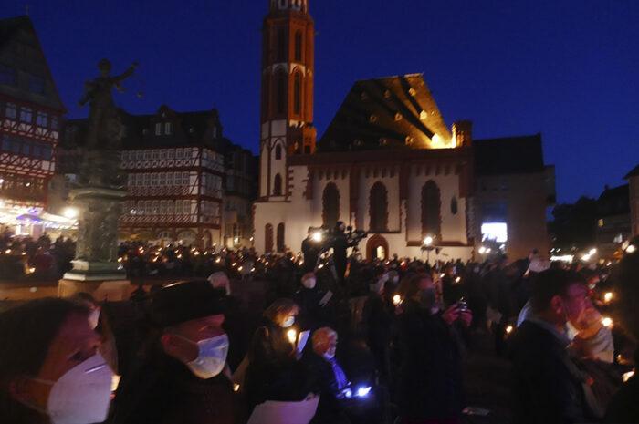"""""""Deutschland singt"""" in Frankfurt, 3.10.2020"""