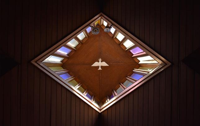 Fensterbild Heiliger Geist